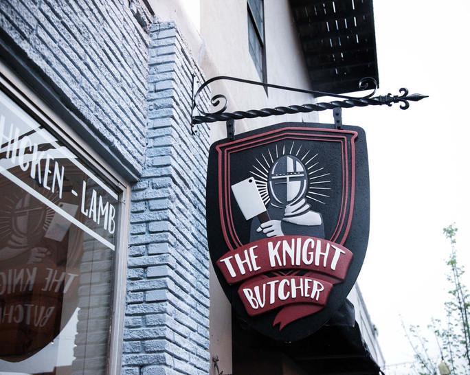 Knight Butcher Signage
