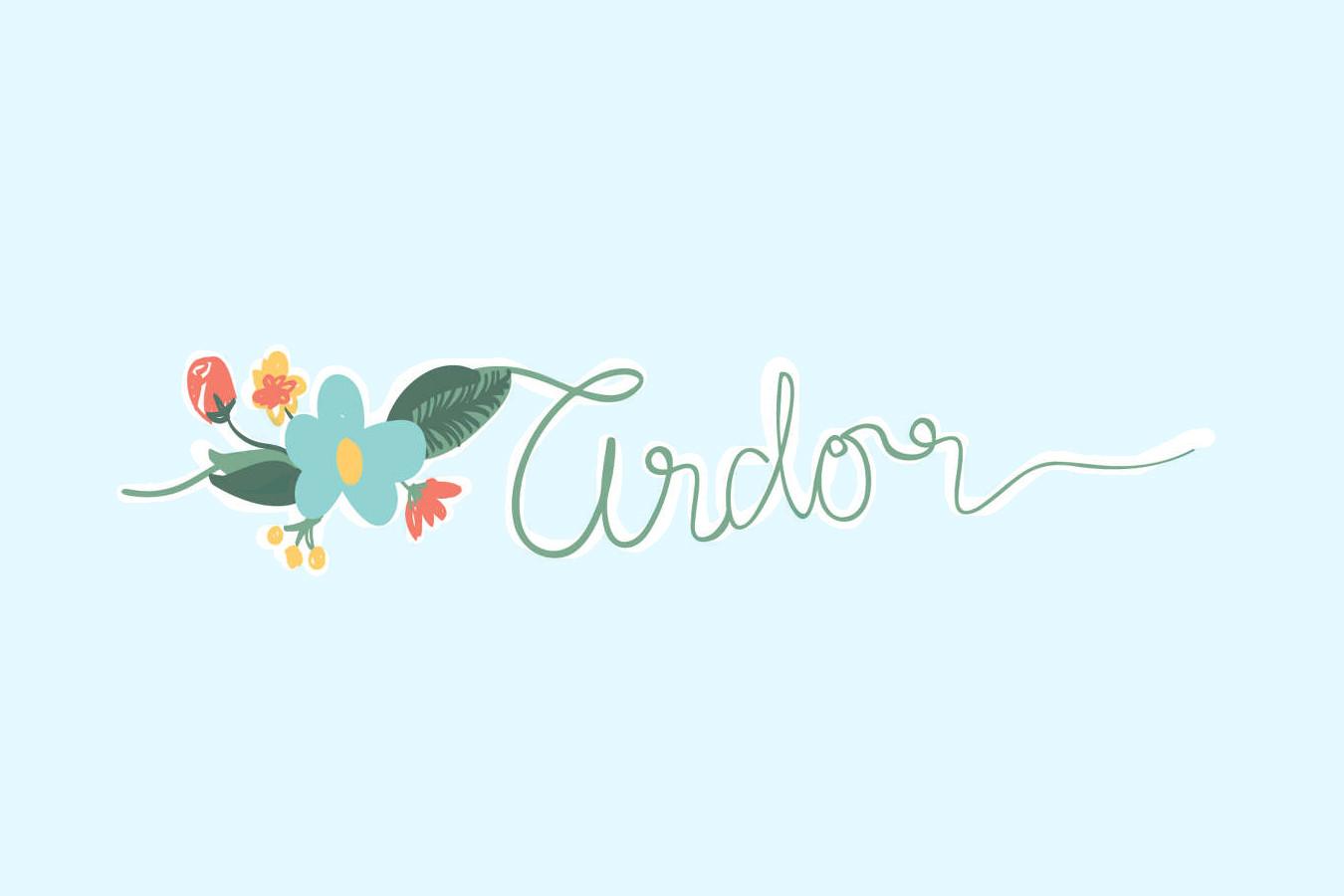 Ardor Logo Design