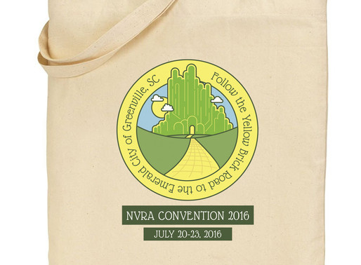 Convention Logos with Yellow Brick Roads