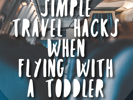 Traveling on a Plane with a Toddler