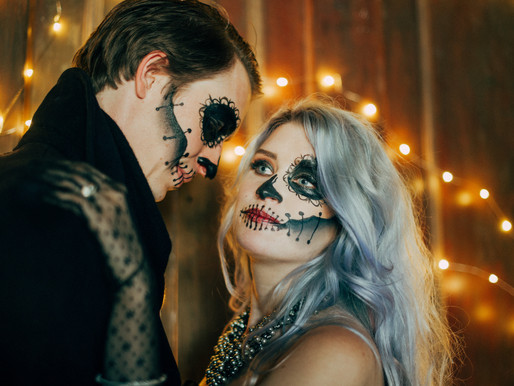 Spooky Halloween Wedding Shoot