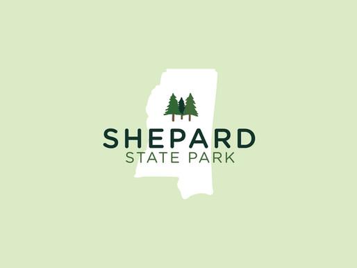Branding with Shepard State Park, Gautier