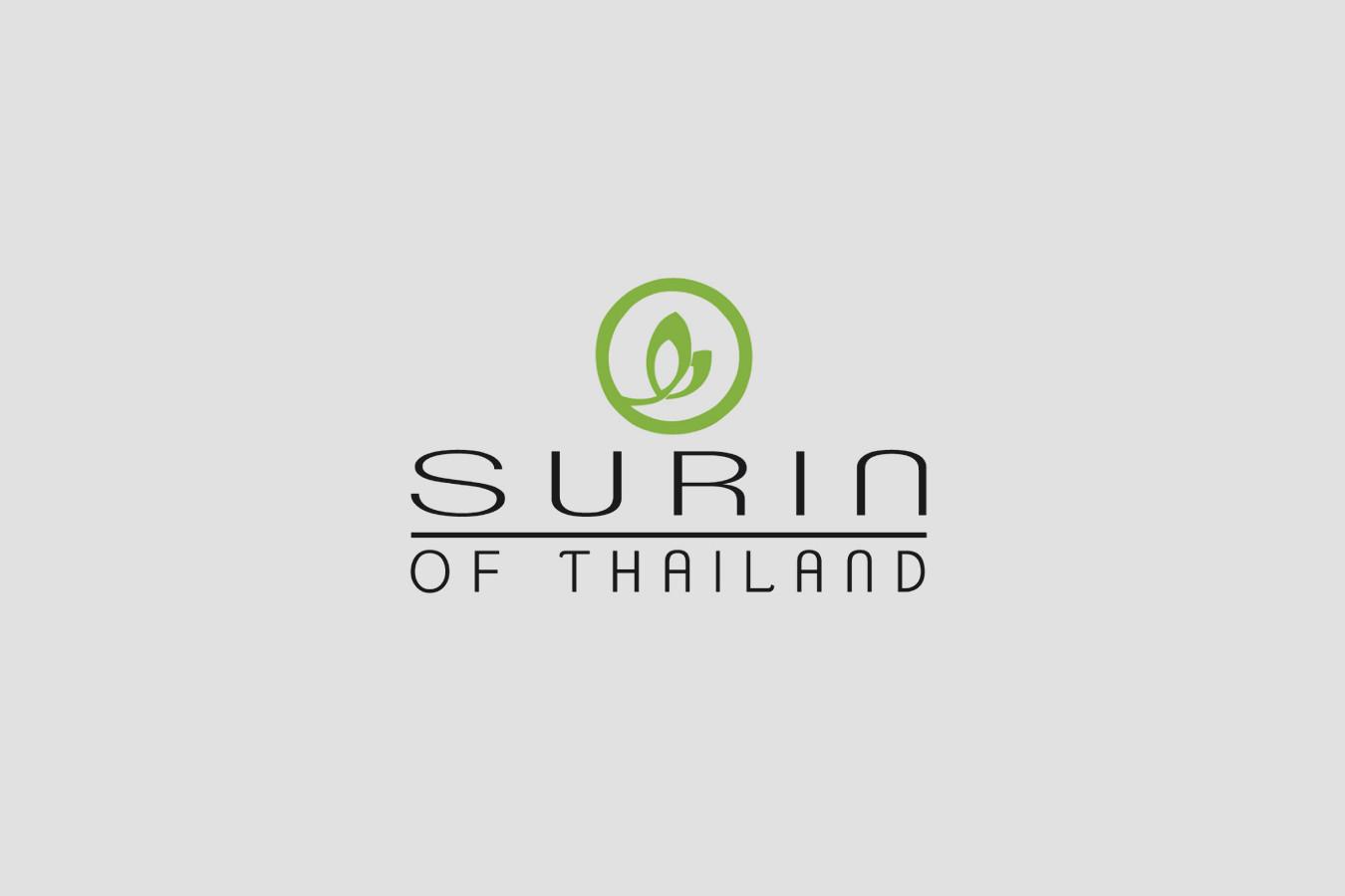 Surin of Thailand Restaurant Logo Design