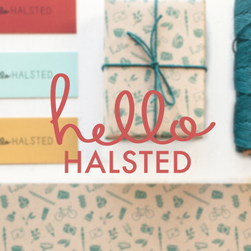 Hello Halsted Logo