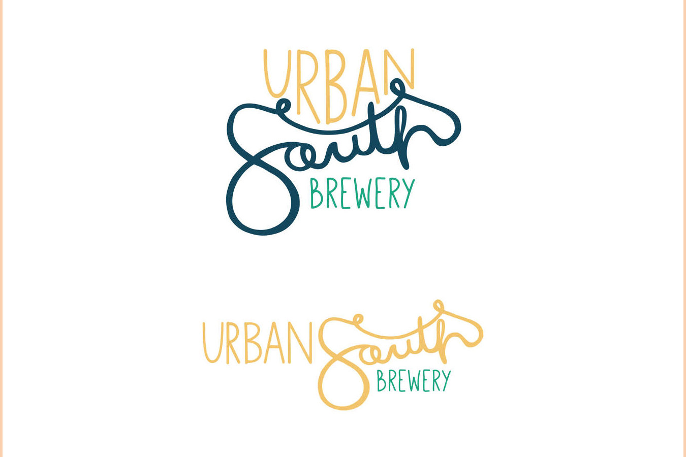 Urban South Logo Design