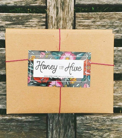 Honey and the Hive Packaging