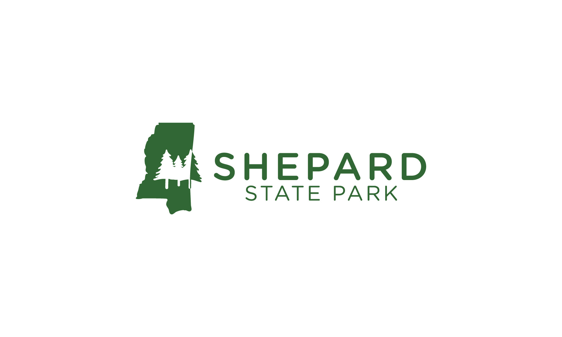 Shepard State Park Secondary Logo