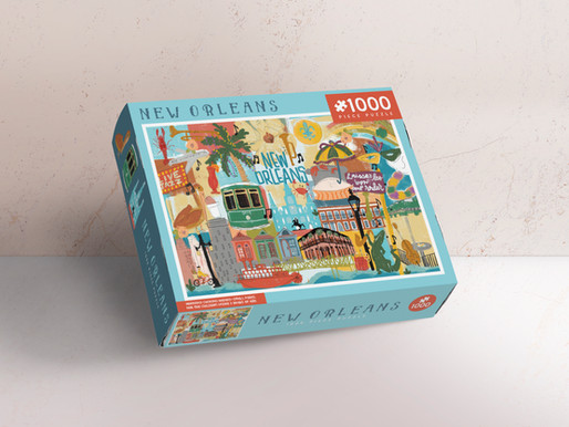 New Orleans Puzzle Design