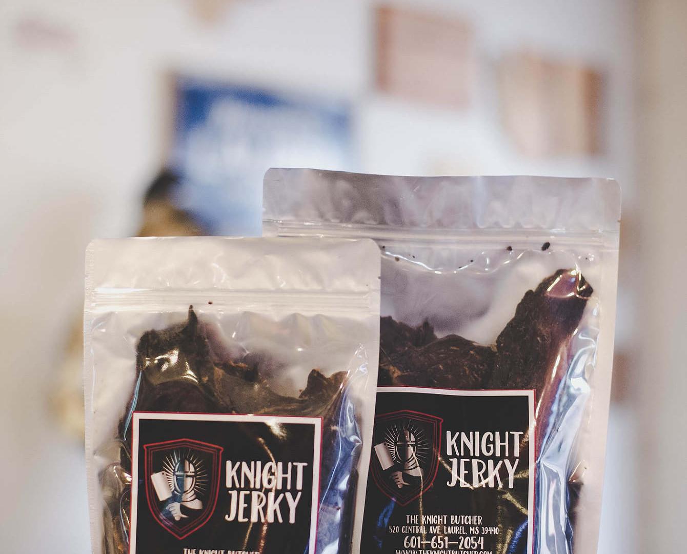 Branding for Knight Jerky