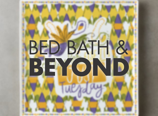 Mardi Gras Collection with Bed Bath and Beyond