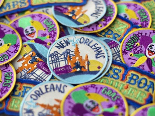 New Orleans Designed Patches
