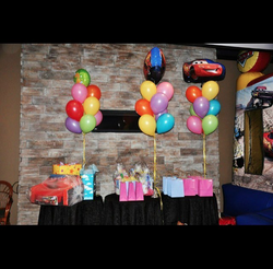 cars themed balloons & loot bags