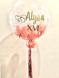 personalized balloon