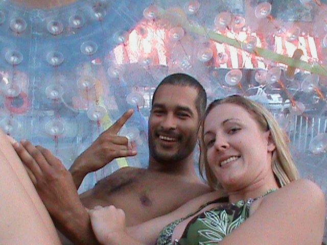 Couple in the Fishpipe