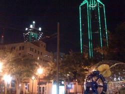 Dallas Skyline Fishpipe View