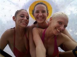 Three Girls in the Fishpipe