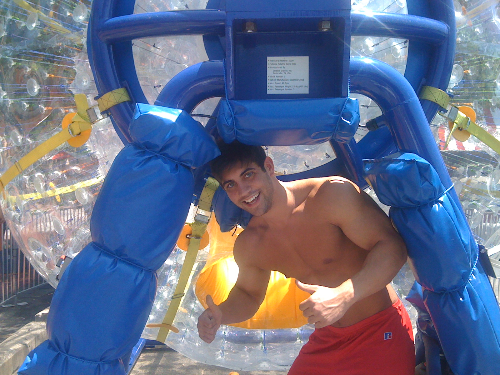 Hot guy in the Fishpipe