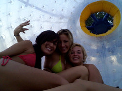 Three babes in the fishpipe