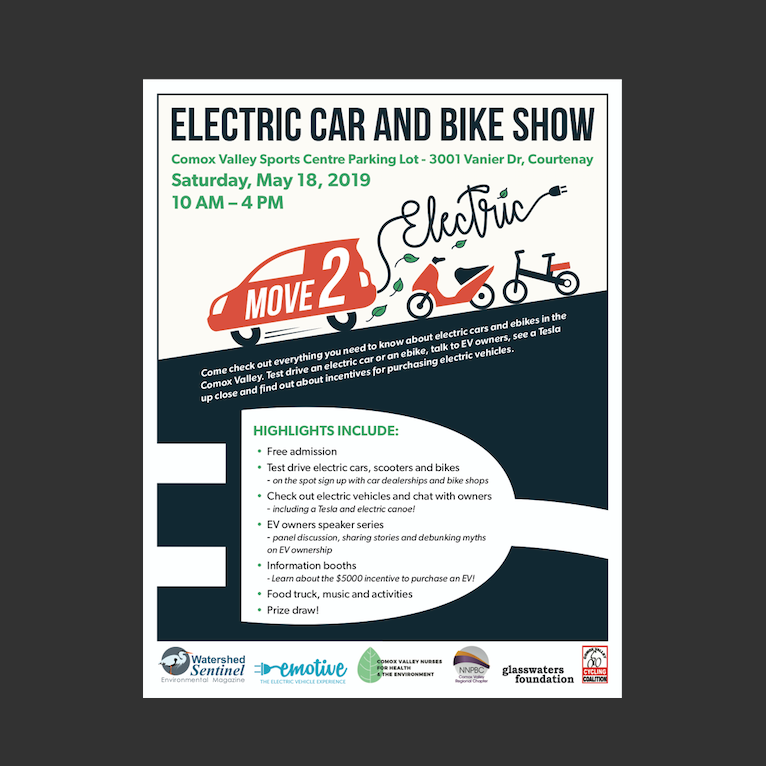 Move2Electric: Comox Valley's first Electric Vehicle Event