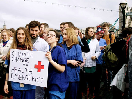 Nurses Support Local Governments to Declare a Climate Crisis