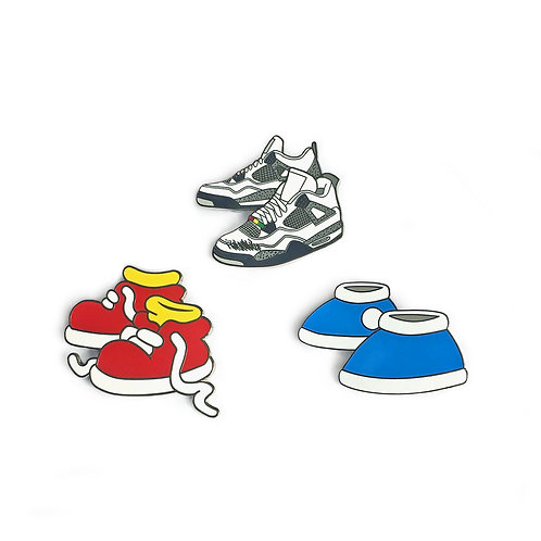 Iconic Kicks Pins (3)