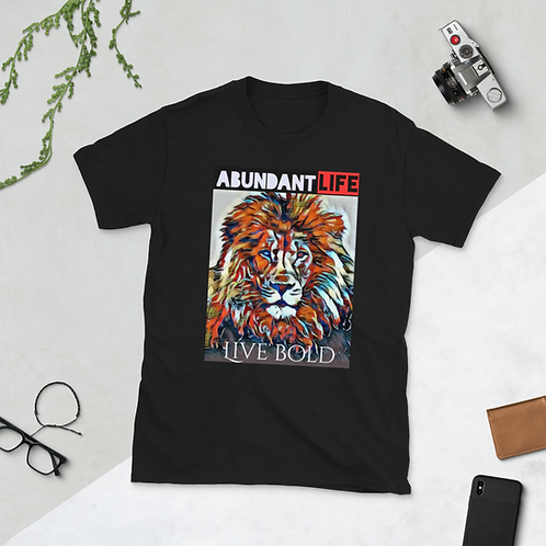 MEN- LIVE BOLD Short-Sleeve Unisex T-Shirt