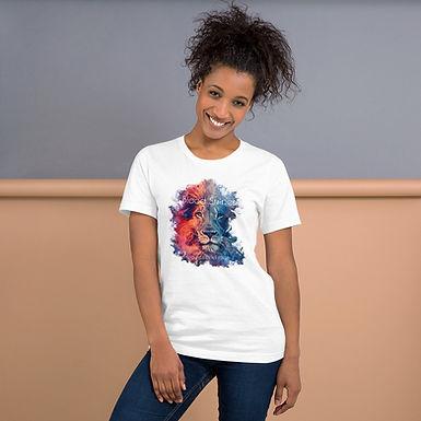 Blood Stripe - Short-Sleeve Unisex T-Shirt