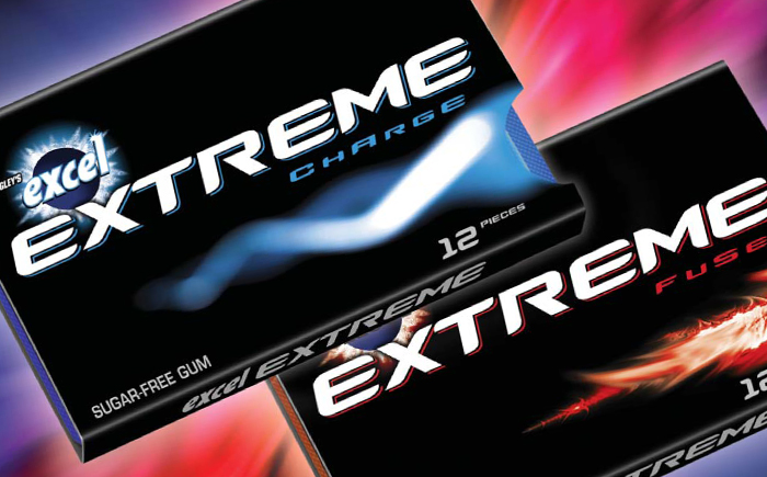 Oh Canada! This Gum is EXTREME!