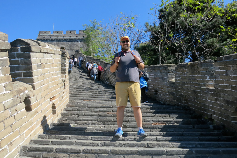 Great Wall. Great Man.