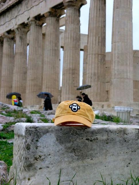 Acropolis in the Rain