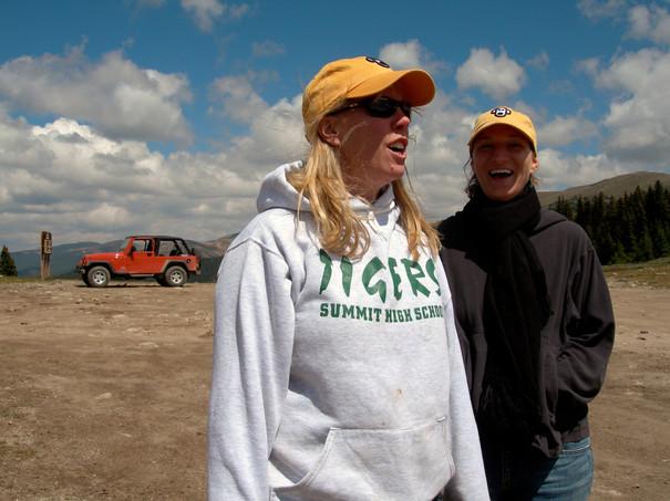 Red Jeep, Lisa & Danielle