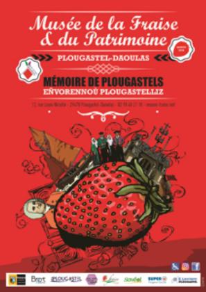 """Affiche de l'exposition temporaire 2018 """"Plougastel pendant la Grande Guerre et Mémoire de Plougastels"""""""