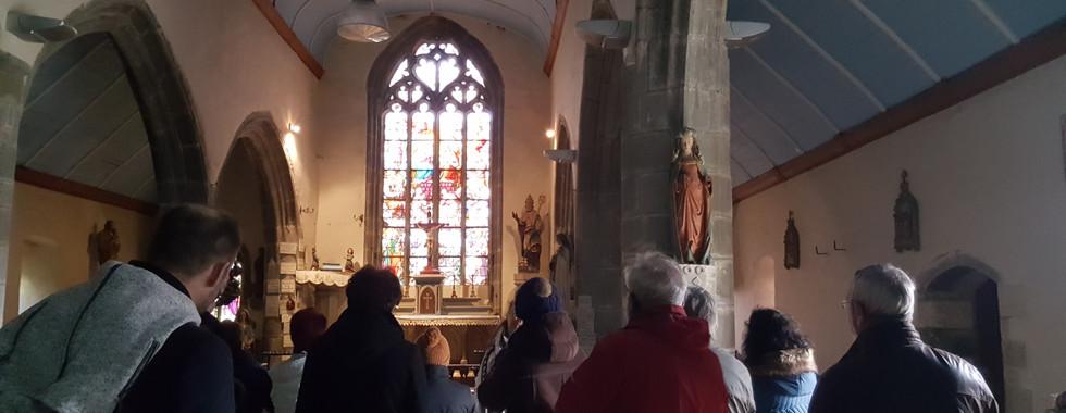 Visite de Notre Dame de la fontaine blanche