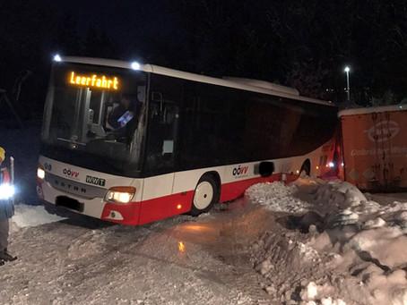 Bergung Autobus