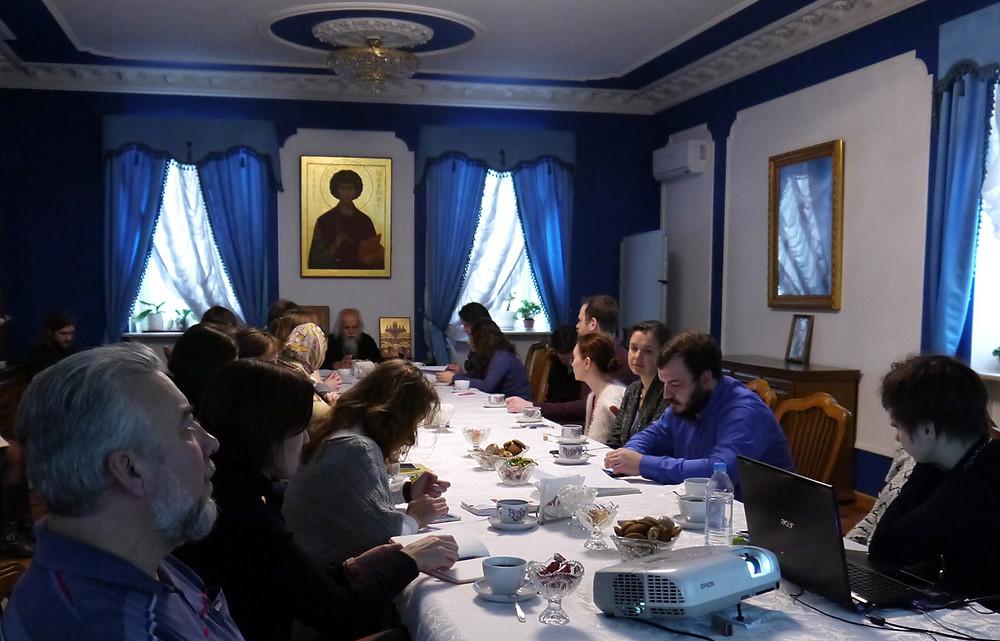 Заседание по вопросам социального служения в сёлах