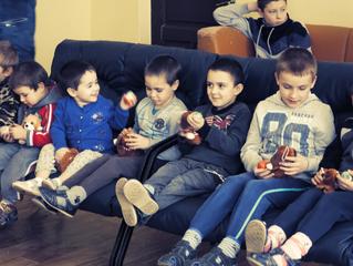 В день Рождества Христова настоятель Покровского храма посетил социально-реабилитационный центр в Во