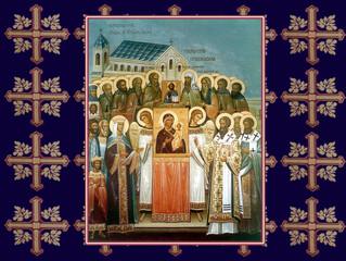 Торжество Православия: праздничные богослужения в селе Бархатово в первое воскресение Великого поста