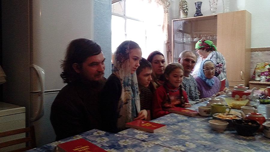 Евангельские беседы в Покровском храме села Бархатово