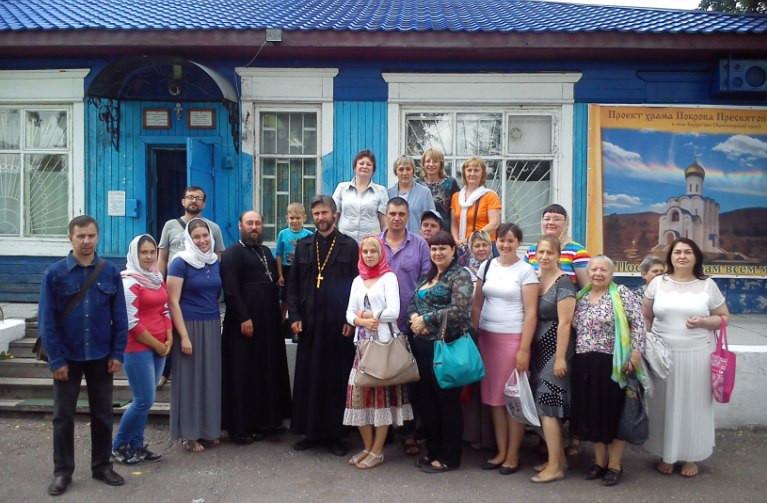 Народный хор в Бархатово