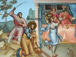 В день Усекновения главы святого Иоанна Предтечи православные бархатовцы молились о страждущих недуг