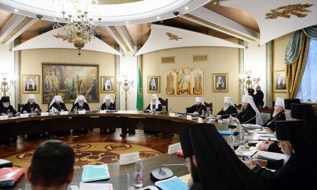 Заседание Высшего Церковного Совета РПЦ. Декабрь 2016