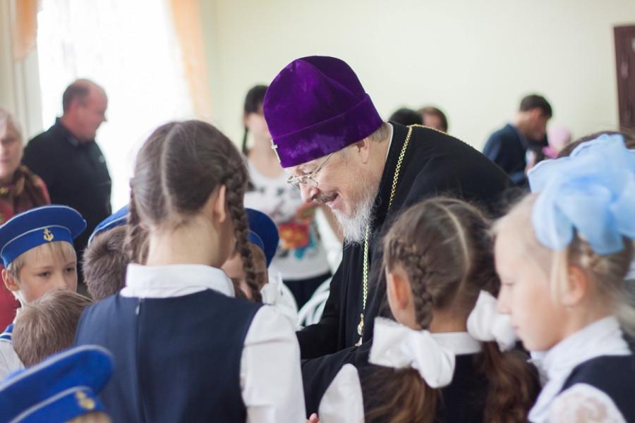 Встреча в Сергиевской гимназии