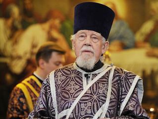 Патриарший поздравительный адрес архидиакону Андрею Мазуру по случаю 90-летия со дня рождения