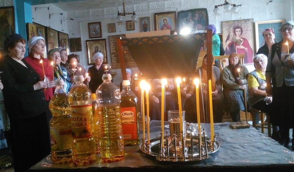 Прихожане Покровского храма