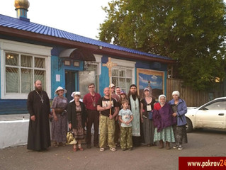 Богослужением в центральном храме Берёзовского благочиния начался многодневный Успенский крестный хо