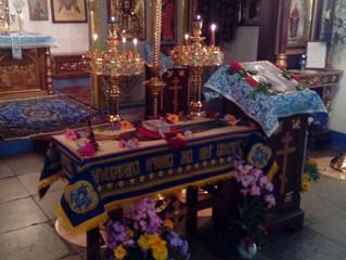 Православные верующие Бархатово отметили праздник Успения Пресвятой Богородицы