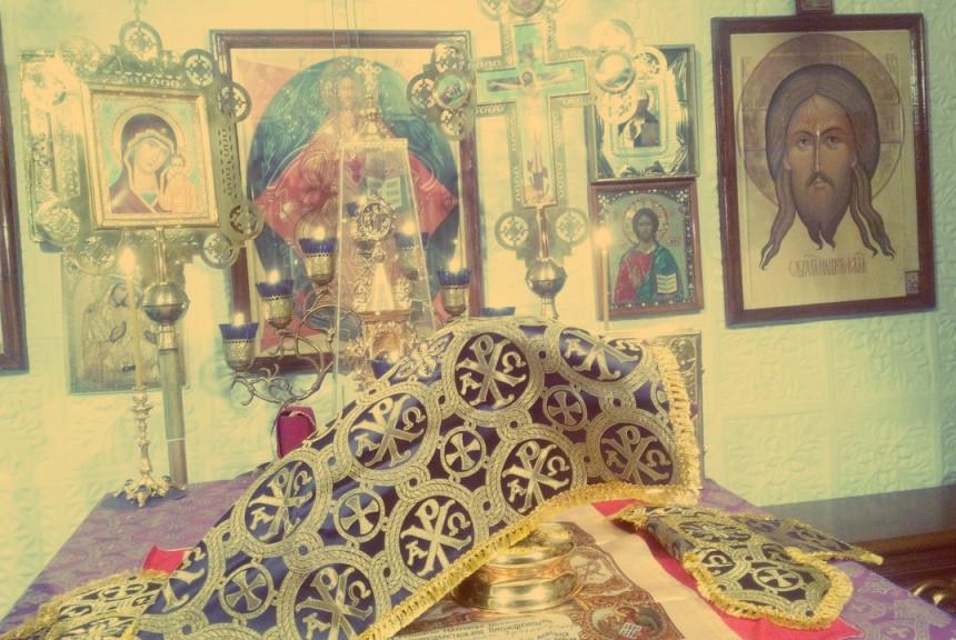 Свято-Покровский храм. Алтарь.