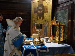 Патриаршее служение в праздник Рождества Пресвятой Богородицы