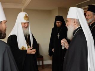 В британской столице состоялась рабочая встреча Предстоятелей Русской и Сербской Православных Церкве