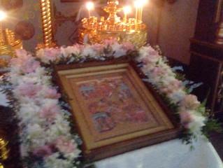 В Покровском храме села Бархатово состоялась череда рождественских богослужений